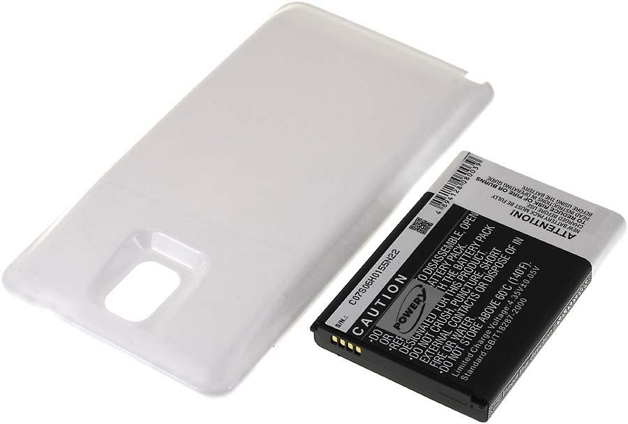Acumulator compatibil Samsung SM-N9000 6400mAh alb