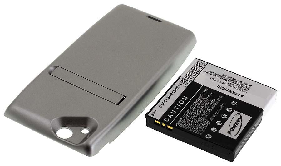 Acumulator compatibil Sony Ericsson model BA750 2500mAh argintiu