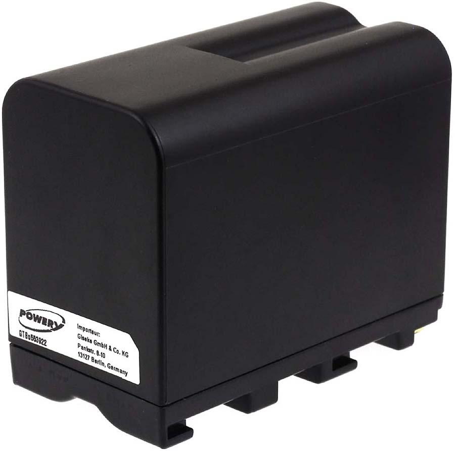 Acumulator compatibil Sony DCR-VX2100E 7800mAh negru