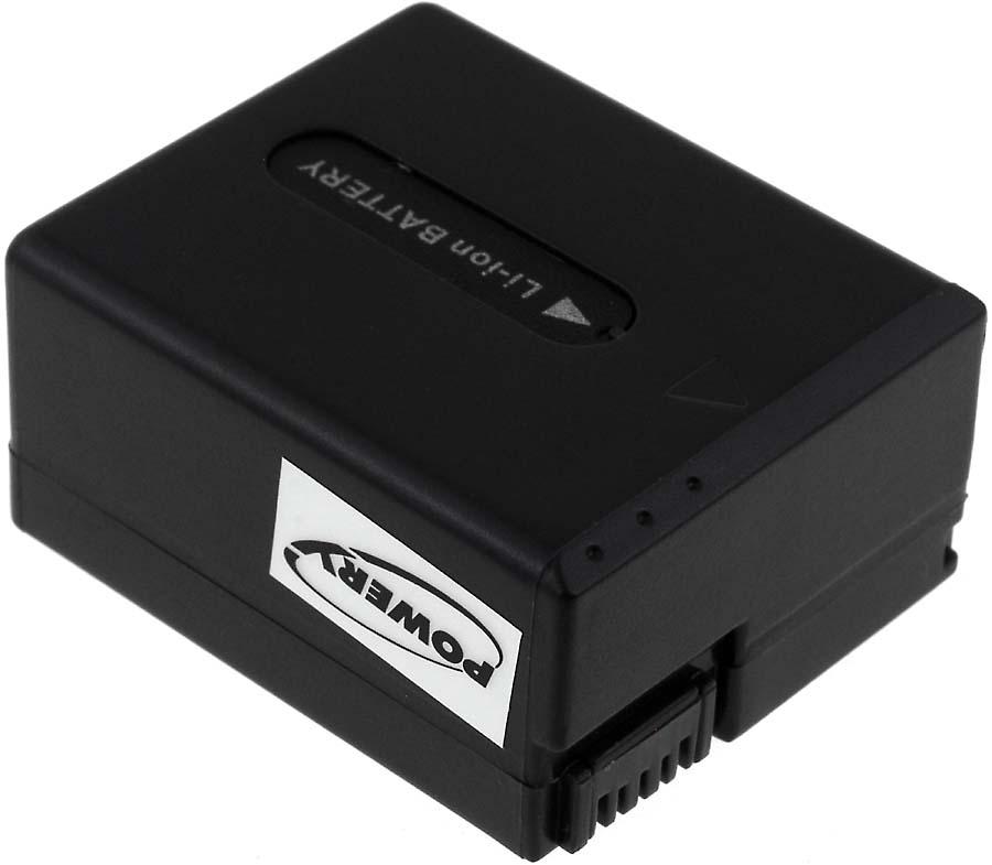 Acumulator compatibil Sony model NP-FF51S 1400mAh