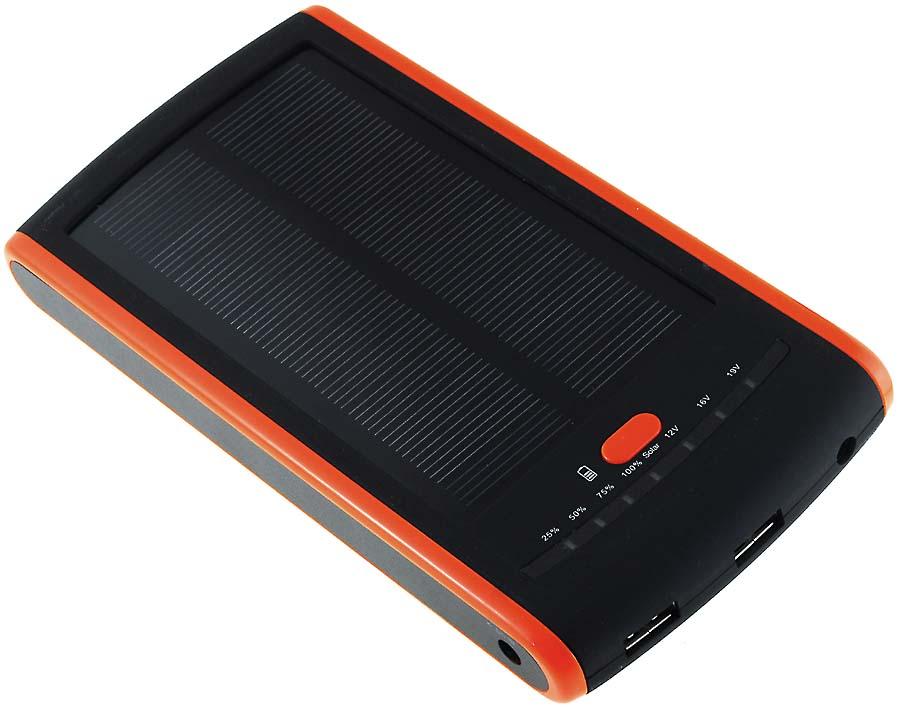 Acumulator extern 44,4Wh USB 5V-12V-16V-19V cu incarcare solara