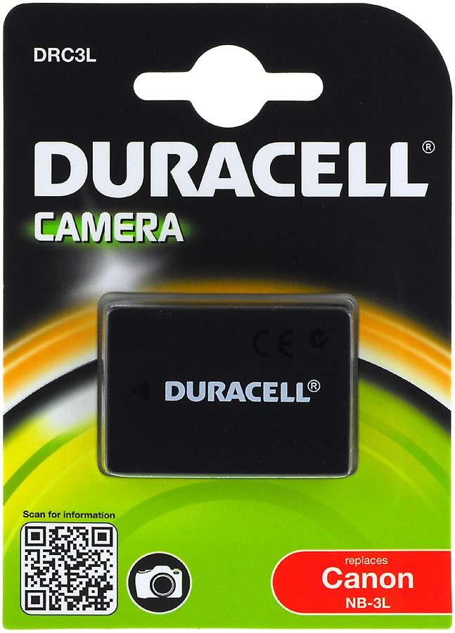 Acumulator Duracell compatibil Canon IXY Digital 30a