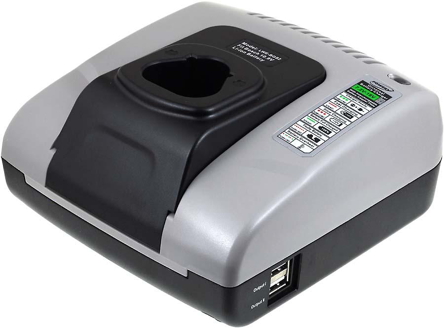 Incarcator compatibil Bosch model 2607336879 cu USB