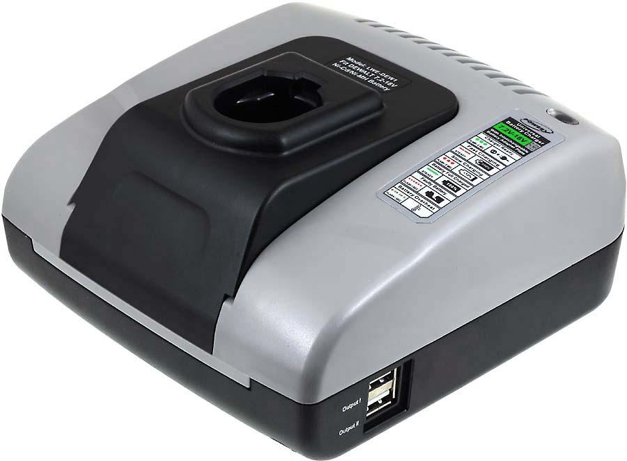 Incarcator acumulator (cu USB) pentru BLACK & DECKER FS12