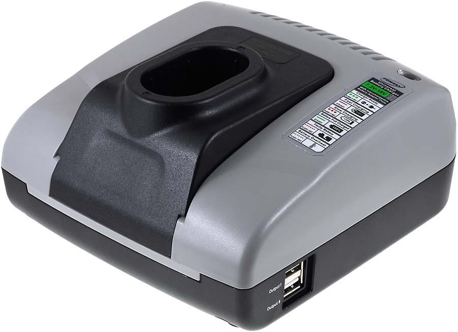Incarcator acumulator cu USB compatibil Dewalt DW9050