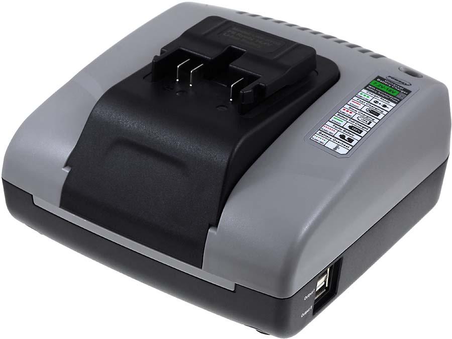 Incarcator acumulator cu USB compatibil Ryobi BID-140
