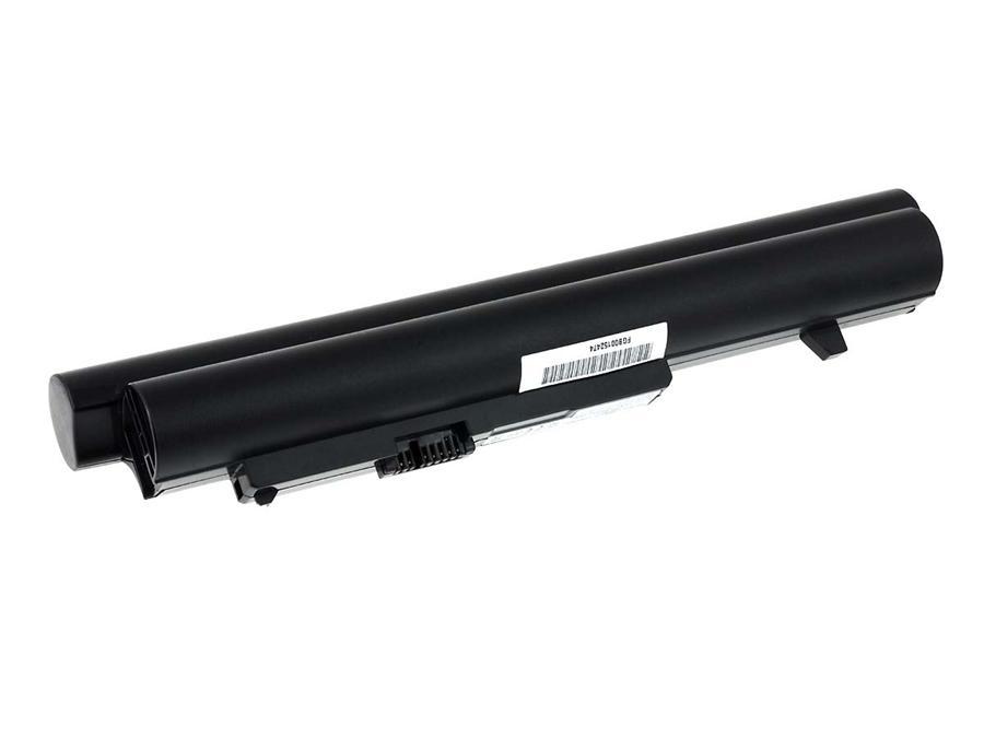 Acumulator compatibil Lenovo IdeaPad S10-2 seria negru 4400mAh cu celule Samsung
