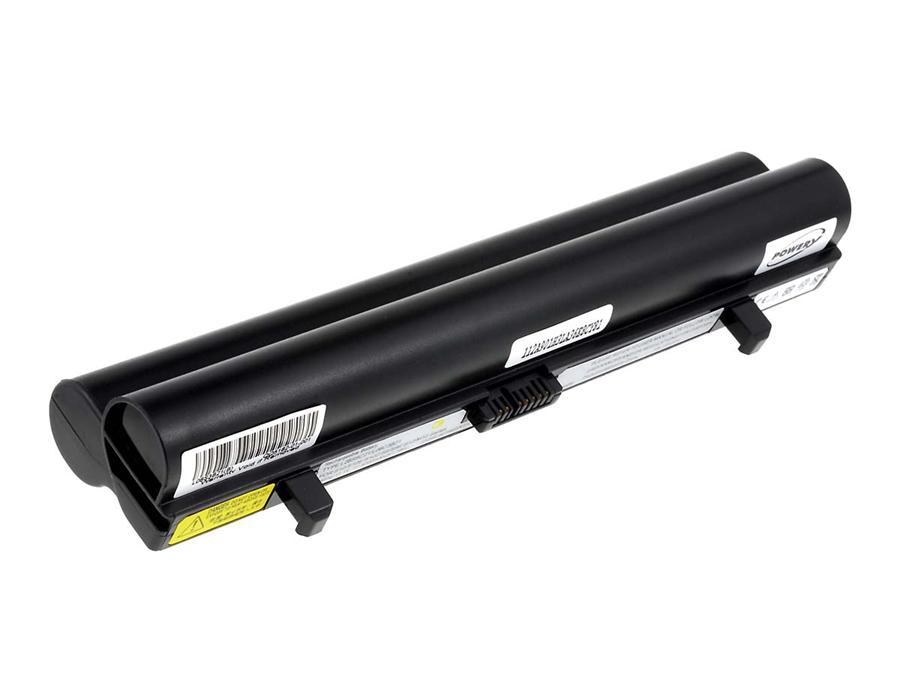 Acumulator compatibil premium Lenovo IdeaPad S12 seria negru 53Wh cu celule Samsung 5200mAh