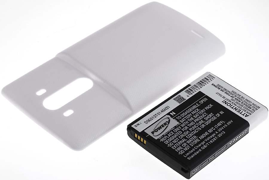 Acumulator compatibil LG VS985 alb 6000mAh