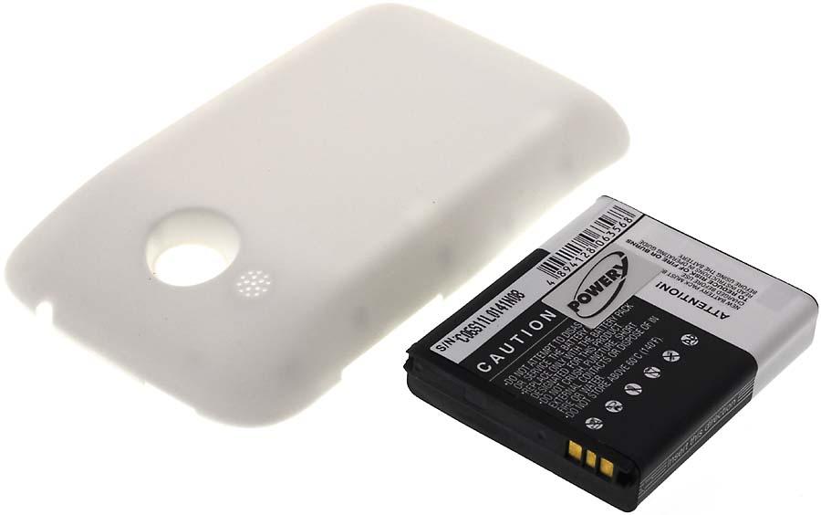 Acumulator compatibil HTC A320E alb 2200mAh
