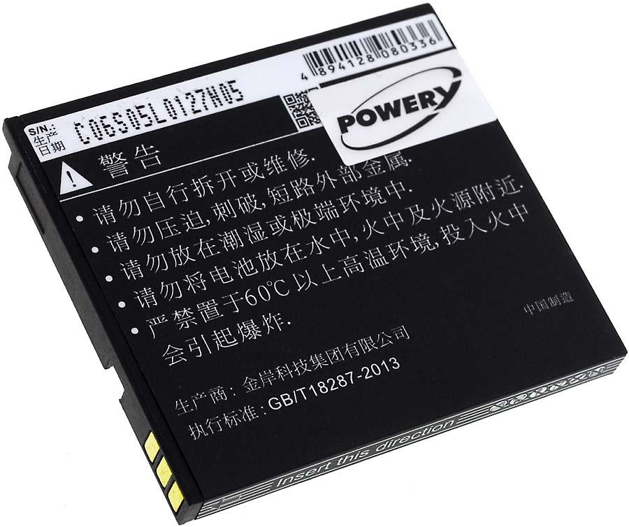 Acumulator compatibil Gigabyte Gsmart GS202 / model BL-148