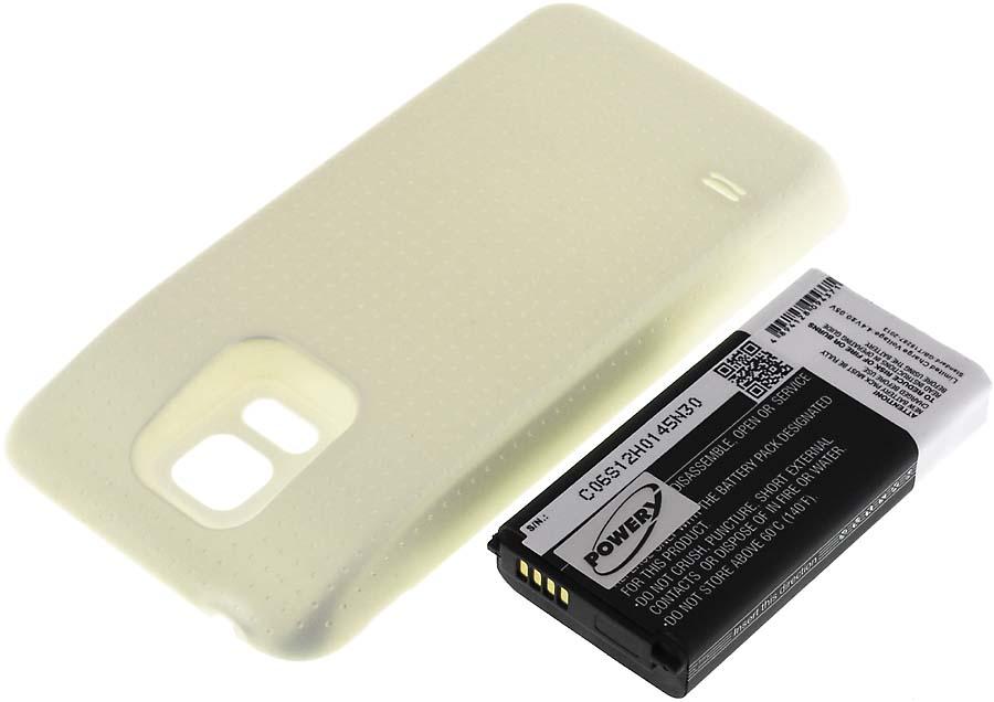 Acumulator compatibil Samsung Galaxy S5 Dx 3800mAh alb