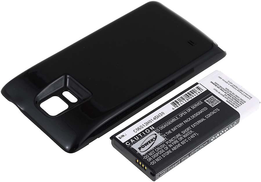 Acumulator compatibil Samsung Galaxy Note 4 6400mAh negru