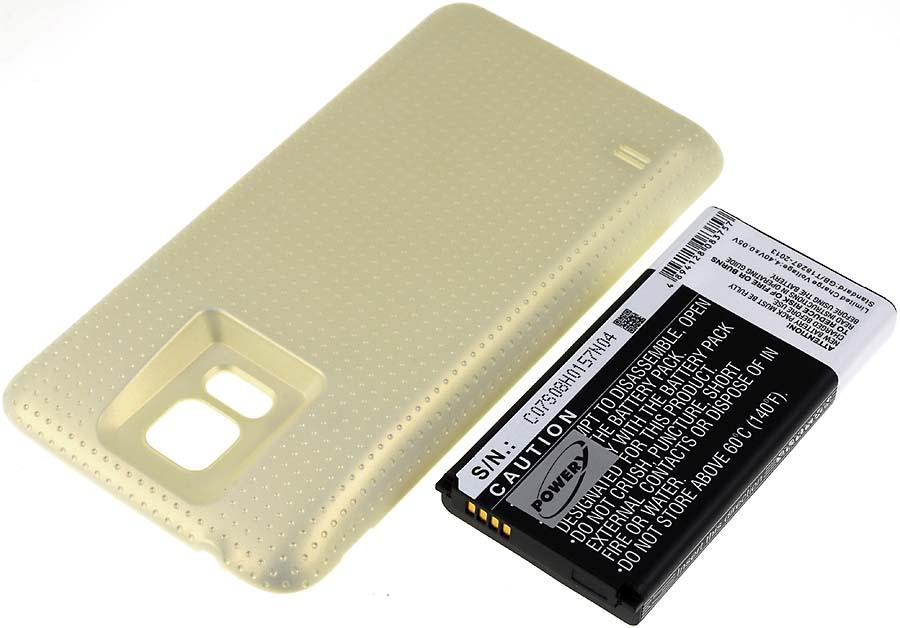 Acumulator compatibil Samsung SM-G900R4 auriu 5600mAh