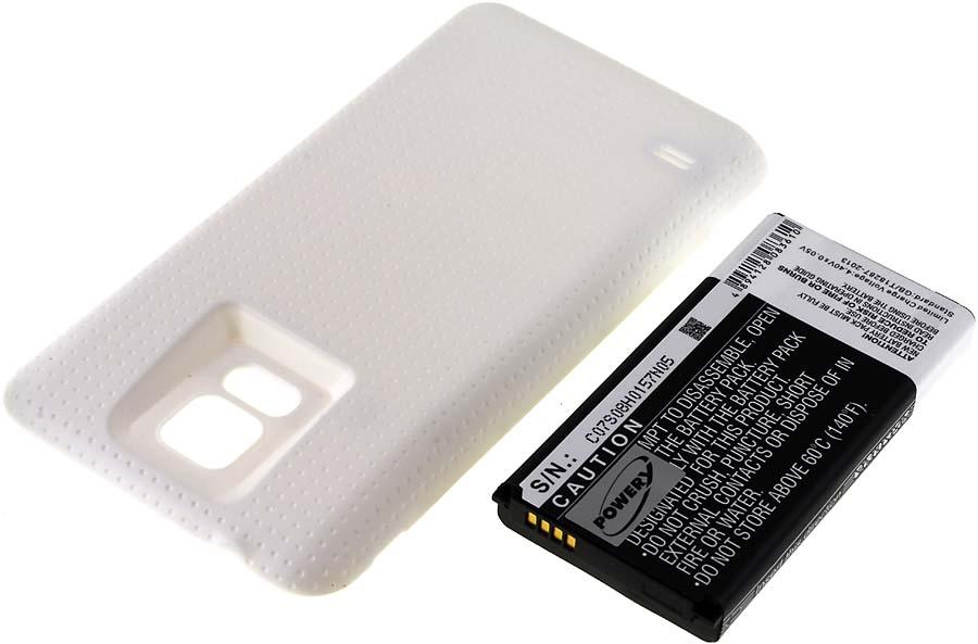 Acumulator compatibil Samsung GT-I9600 alb 5600mAh