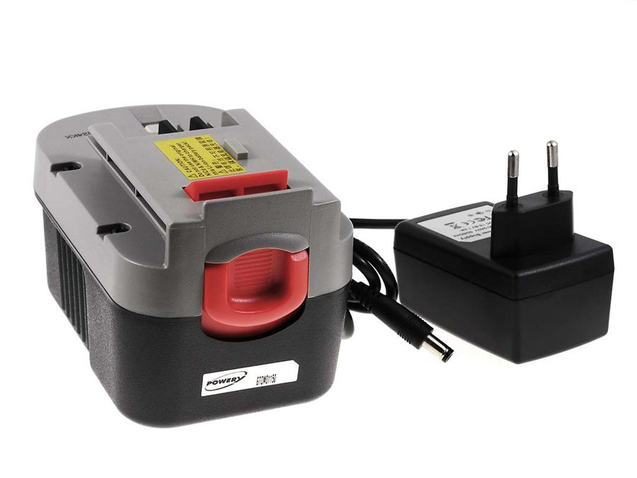 Acumulator compatibil Black & Decker HP146F2K Li-Ion cu incarcator