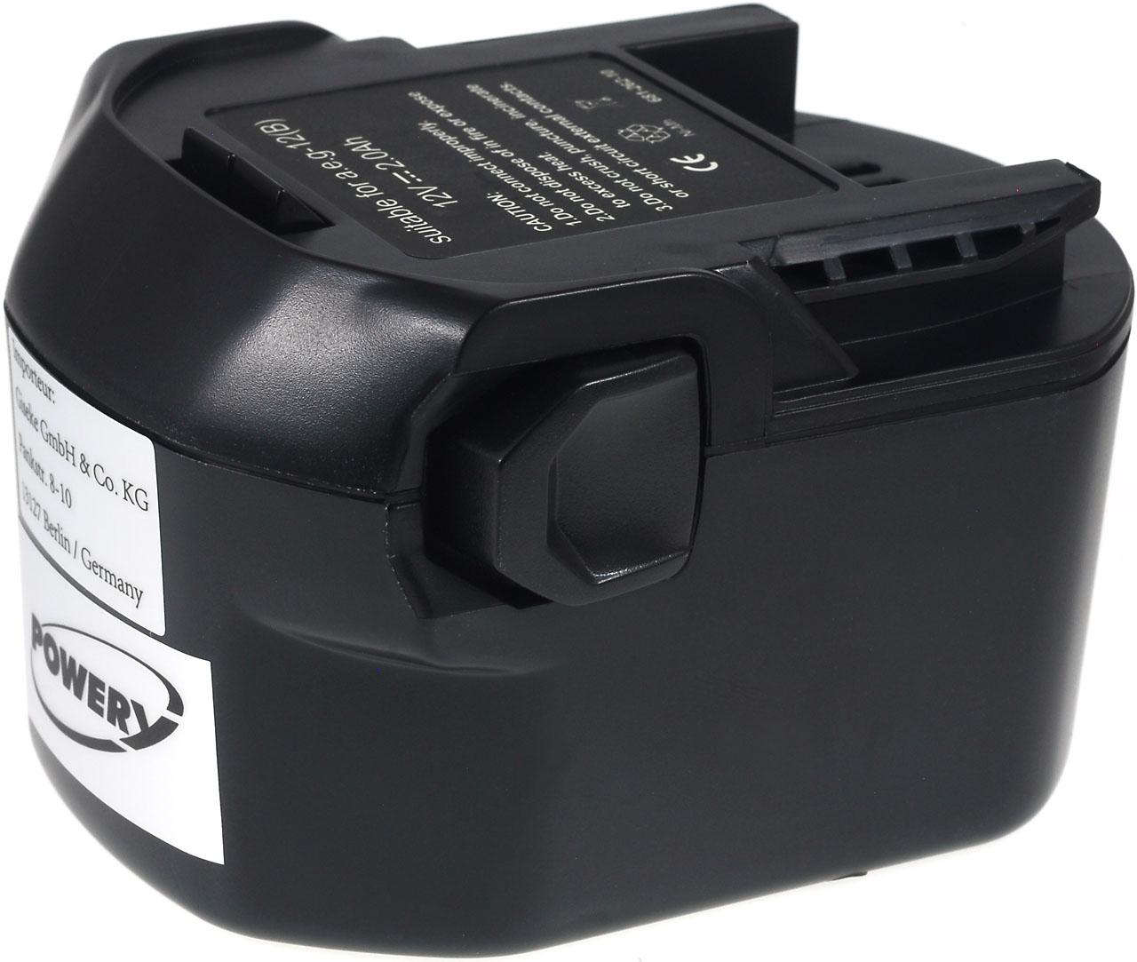 Acumulator compatibil Wrth model 0700 980 320 2000mAh NiMH
