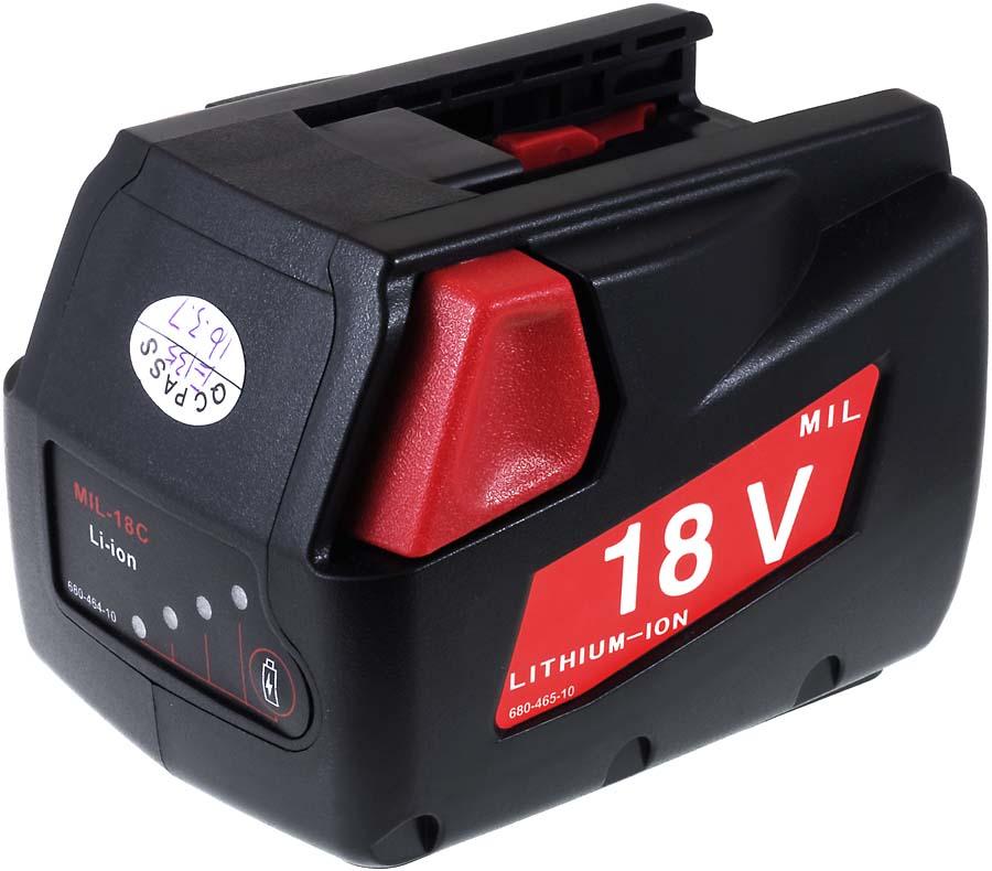 Acumulator compatibil Milwaukee V18 PD 2000mAh