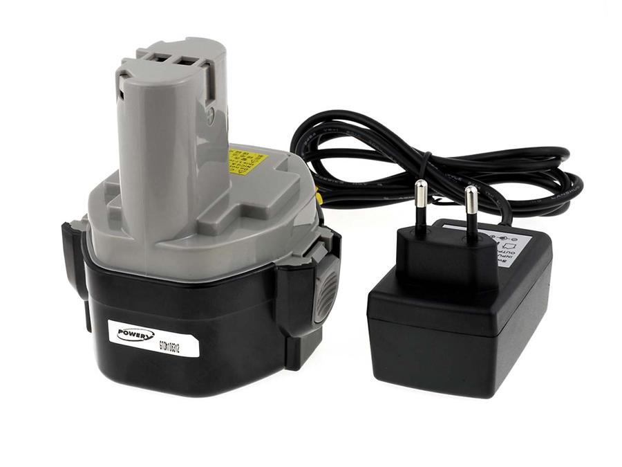 Acumulator compatibil Makita model PA14 Li-Ion 2000mAh cu incarcator - celule japoneze