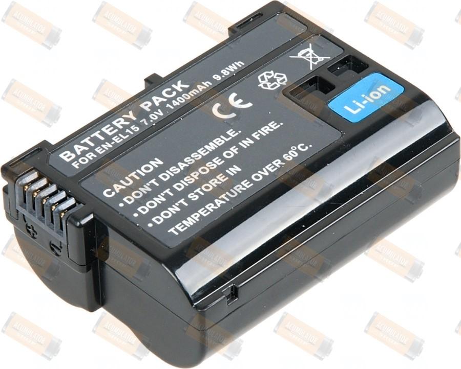 Acumulator compatibil Nikon D7100
