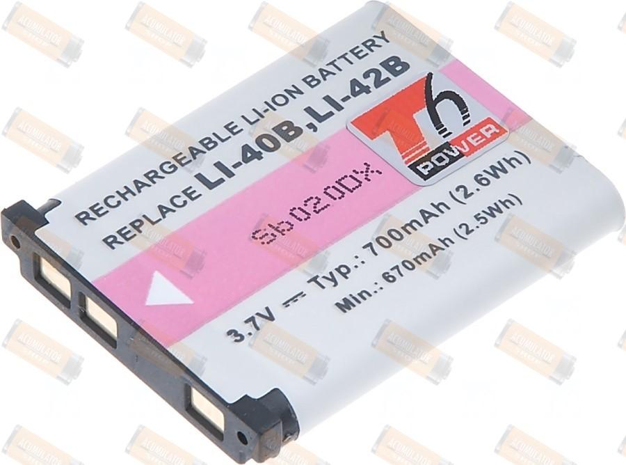 Acumulator compatibil Pentax Optio L40