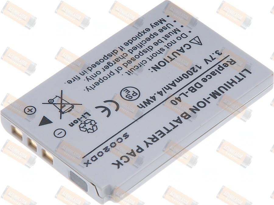 Acumulator compatibil Sanyo Xacti VPC-HD1EX