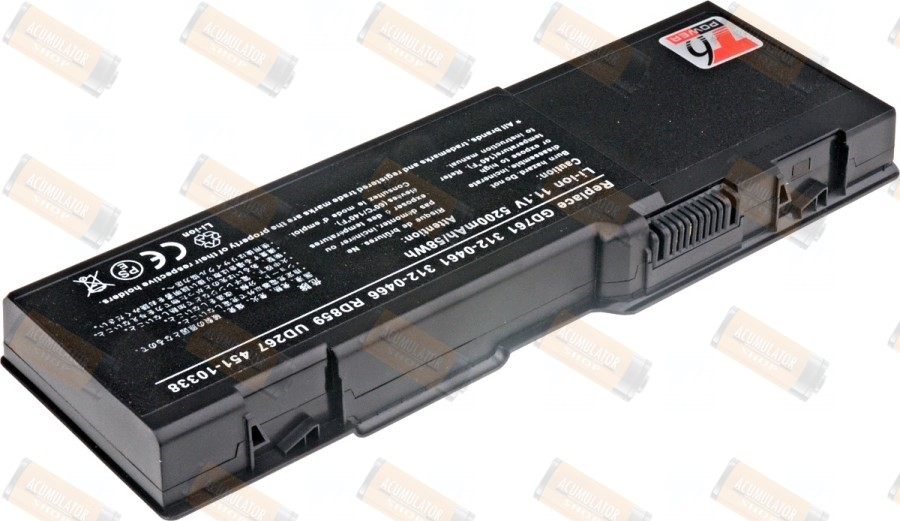Acumulator compatibil DELL Inspiron 6400 seria