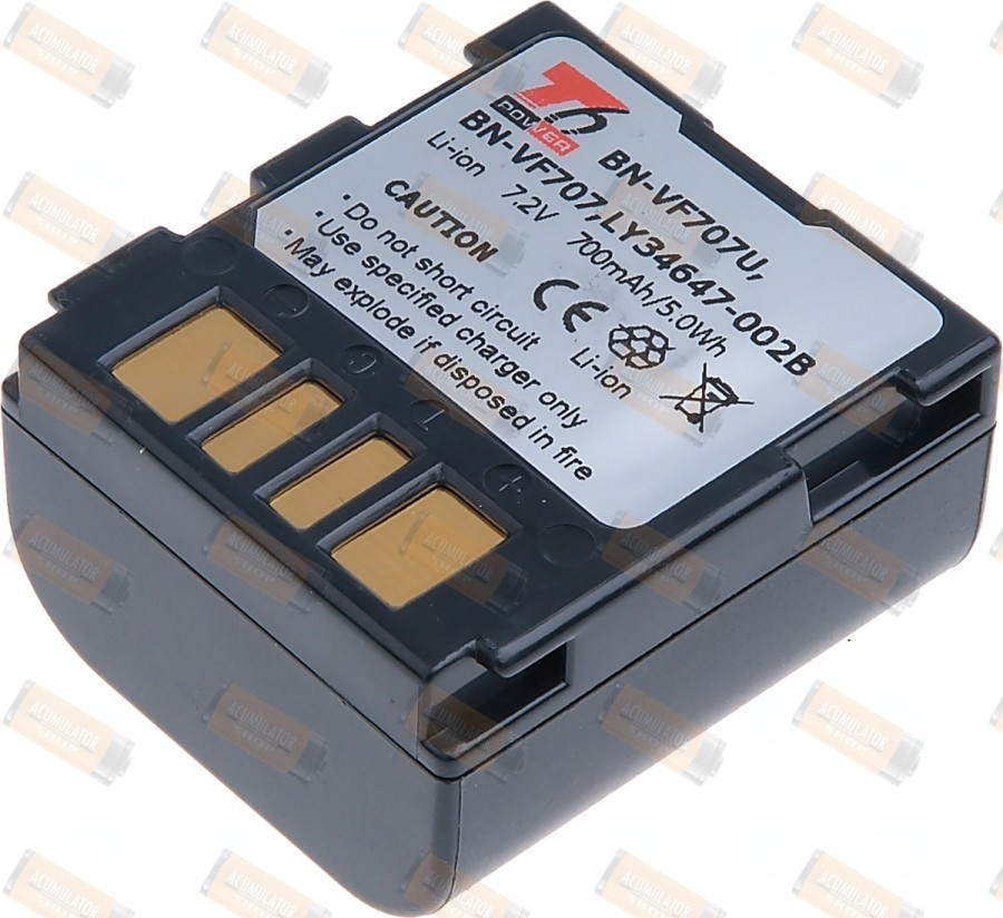 Acumulator compatibil JVC GR-DF470US