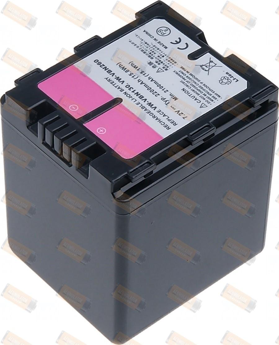 Acumulator compatibil VW-VBN260E-K